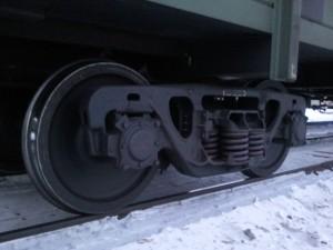 Колесо вагона